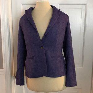 Banana Republic Size 6p Purple School Boy Blazer